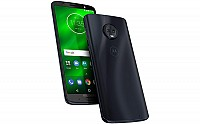 Motorola Moto G6 Plus Black, Front And Side pictures