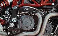Indian Motorcycle FTR 1200 S Engine Image pictures
