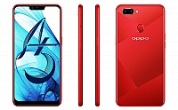 Oppo A5 Back, Side and Front pictures