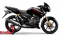 TVS Apache RTR 180 abs Matte Black pictures