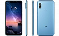 Xiaomi Redmi Note 6 Pro Front, Back and Side pictures
