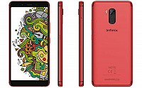 Infinix Note 5 Stylus Front, Side and Back pictures