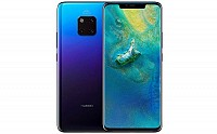 Huawei Mate 20 Pro Front and Back pictures