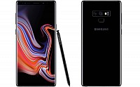 Samsung Galaxy Note 9 Front, Side and Back pictures