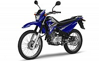 Yamaha XTZ125 Blue pictures