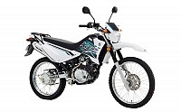 Yamaha XTZ125 White pictures