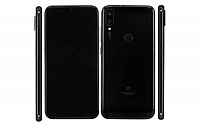 Xiaomi Redmi 7 Pro Front and Black pictures