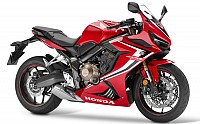 Honda CBR650R Red pictures