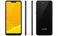 Realme C1 Front, Side and Back pictures