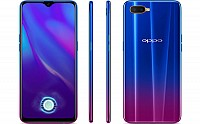 Oppo K1 Front, Side and Back pictures