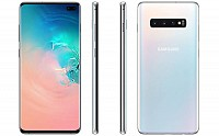 Samsung Galaxy S10 Plus Front, Side and Side pictures