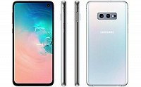 Samsung Galaxy S10e Front, Side and Back pictures