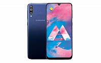 Samsung Galaxy M30 Front and Back pictures