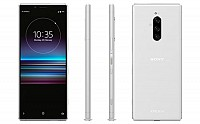 Sony Xperia 1 Front, Side and Back pictures