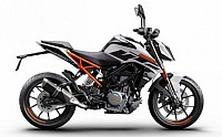 KTM Duke 250 white pictures