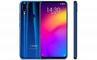 Meizu Note 9 Front, Side and Back pictures