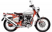 Royal Enfield Bullet Trials 350 STD Replica Red pictures