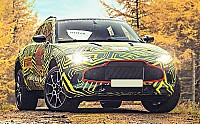 Aston Martin DBX pictures