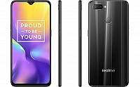 Realme U1 Front, Side and Back pictures