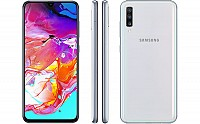Samsung Galaxy A70 Front, Side and Back pictures