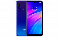 Xiaomi Redmi 7 Front, Side and Back pictures