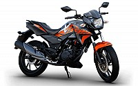 Hero Xtreme 200R STD Charcoal Grey with Orange pictures