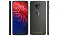 Motorola Moto Z4 Force Front, Side and Back pictures