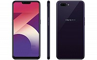 Oppo A3s 4GB Front, Side and Back pictures
