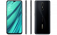 Oppo A9x Front, Side and Back pictures
