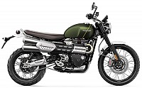 Triumph Scrambler 1200 XC Khaki Green And Brooklands Green pictures