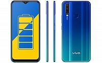 Vivo Y15 2019 Front, Side and Back pictures