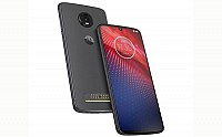 Moto Z4 Front, Side and Back pictures