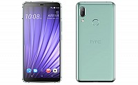 HTC U19e Front and Back pictures