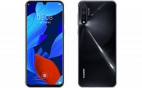 Huawei Nova 5 Front and Back pictures