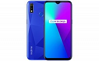 Realme 3i 4GB Front, Side and Back pictures