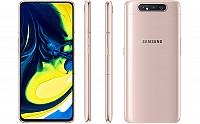 Samsung Galaxy A80 Front, Back and Side pictures