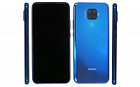 Huawei Nova 5i Pro Front, Side and Back pictures