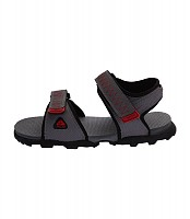Nike Ascent Red Black Sandals