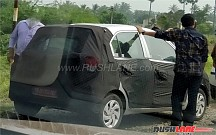 New Hyundai Santro 2018 (Codenamed AH) Spied Testing in India