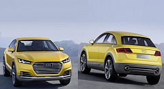 Audi TT Offroad Concept goes on the land of Beijing Auto Show 2014