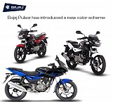 New shades of Bajaj Pulsar Series, Officially announced by Bajaj