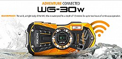 Ricoh Unmasked WG 30 and WG 30W Rugged Action Cameras