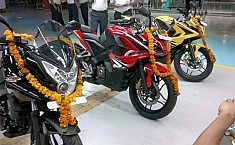 Bajaj Pulsar RS 200 Hits Production Line, Accompanied by Pulsar AS 200