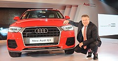 Audi Q3 facelift Marks its Presence at Indian Shores