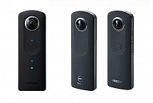 Ricoh Upgraded Theta Spherical Camera to Stick Camera