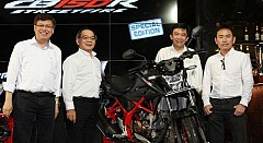 Honda CB150R StreetFire Special Edition Unveiled in Indonesia