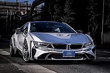 BMW i8 Cyber Edition Revealed Donning Silver Chrome Body