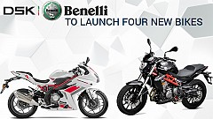 DSK-Benelli to Add 4 New Bikes in Indian line-up in 2016