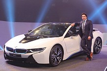 BMW i8 Introduced at the Ongoing Auto Expo 2016