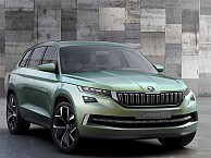 India-bound Skoda VisionS concept-based SUV To Launch By 2017
